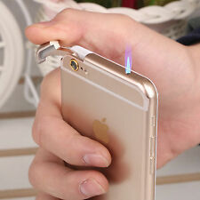 IPHONE 6 SHAPE CIGARETTE LIGHTER WITH LED TORCH DUMMY MOBILE LITER LIGHTER