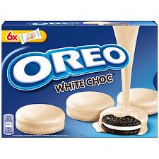 OREO Choc White -WHITE Chocolate covered cookies -Made in Spain -246g
