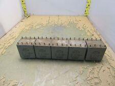 lot of 5x vintage ADC tf4rx01gb 115V:15V transformers WV175 15KFT [2*P-10]