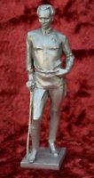 USSR Russian Soviet writer Nikolai Ostrovsky bust figure sc. Murzin H=29 cm 1976