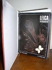 Leica Fotografie Magazine 1982 Editions #1,#2,#3,#4,#5#6,#7,#8 in Binder (PB)