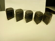 5 Vintage Original Raytheon Teardrop Pointer Knobs Amplifier Ham/Tube Radio USA