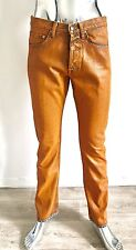 JEAN PAINTING TROUSERS MEN DRIES VAN NOTEN TAILLE 31US NEUF ÉTIQUETTE WAXED