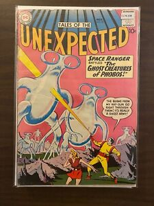 Tales of the Unexpected 55 Lower Grade DC Comic Book CL74-208