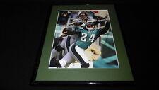 Ernest Wilford vs Sheldon Brown Jaguars Eagles Framed 11x14 Photo Display