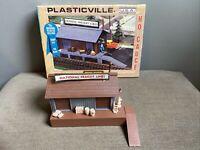 HO ga Plasticville #2610 National Freight Station, OB Model Train Railroad RR
