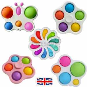 Baby Simple Dimple Fidget Toy Special Needs Silent Sensory Autism Classrom Adult