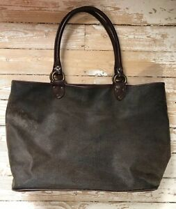 NEXT Faux Leather Large Brown Shopper Bag Holiday Hand Luggage Beach Tote