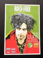 THE CURE ROBERT SMITH ROCK & FOLK 1996 FRENCH PAMPHLET STYLE MAGAZINE 6-SIDED