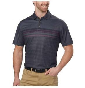 NEW! MENS PEBBLE BEACH DRY LUXE PERFORMANCE POLO SHIRT! DRY LUXE WICKING VARIETY