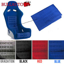 Blue BRIDE Seat Cover Fabric Decorate Cloth For RECARO/BRIDE/SPARCO 1mx1.6m