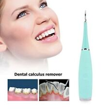Portable Electric Sonic Dental Calculus Remover Scaler Tooth Stains Oral Clean