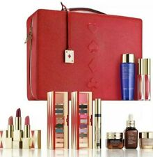 2019 Estee Lauder Blockbuster  Holiday Make Up Gift Set w/Train Case Cool