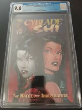 CYBLADE SHI CGC 9.6 The Battle for Independence #1 1st Appearance Witchblade 95'