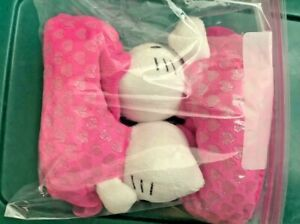 Hello Kitty Slippers Girls size Toddler 7-8 Sanrio 2014, Pink Booties Style