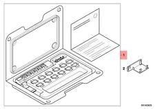 Genuine BMW E81 E82 E87 Center Console Switch Repair Set OEM 61319120026