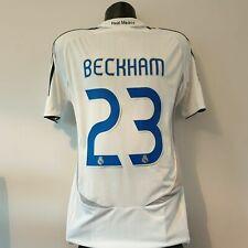 BECKHAM 23 Real Madrid Shirt - 2006/2007 - Medium - Home