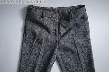 THOM BROWNE Wool Plaid Crop Pants Mens Japan Trousers size 3 30