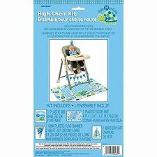 Unique Party Turtle 1st Birthday High Chair Decorating Kit USA Size - 1