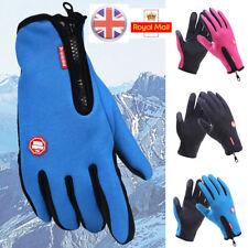 Winter Warm Windproof Weatherproof Anti-slip Thermal Touch Screen Gloves Unisex