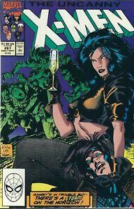 THE UNCANNY X-MEN #267 (1990) YOUNG STORM & GAMBIT MARVEL COMICS VF+