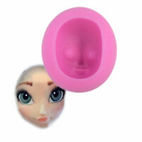Girl's Face Silicone Clay Moulds Fondant Sugarcraft Cake Decoration Mold