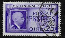 Albania 1940 Italian Occupation - 25q  violet Express Letter Stamp - Used