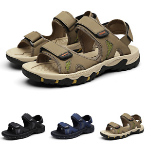 38-44 Mens Beach Slingbacks Sandals Shoes Open Toe Flats Non-slip Trekking Sport