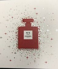 Chanel Perfume Promotional Blotter Card Chanel N5 Christmas 2019
