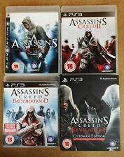 Playstation 3 Game Bundle Assassin's Creed 1, 2, Brotherhood & Revelations PS3