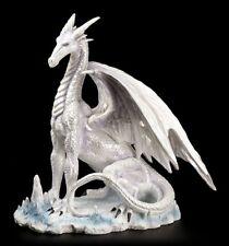 Drachen Figur - Der große Weiße - Dragon Fantasy Magie Gothic