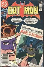 DC Batman #336 Jun 1981 Monarch of Menace Spellbinder Garcia-Lopez McLaughlin