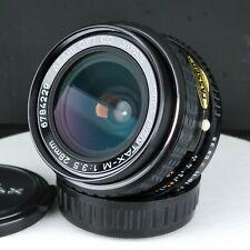 Pentax-M 28mm F/3.5 Lens SMC Pentax K PK Mount Beauty /w tiny scratch [2322]