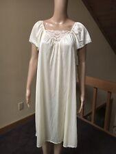 "New listing Nwt~ Vintage Vassarette Sz M ~ Nylon Nightgown ""Underneat 00002E54 h It All"" ~Nwt~"