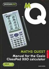 Maths Quest Manual for the Casio Classpad 330 Calculator 2E & eBook  New, tracka
