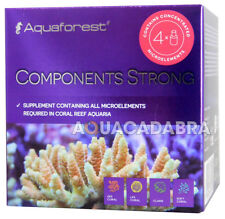 Aquaforest componenti forte Set microelement supplemento barriera corallina ACQUARIO