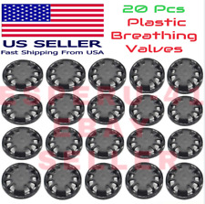 20pcs Air Breathing Filter Accessories Face Cover Mouth Valves Activated Carbon