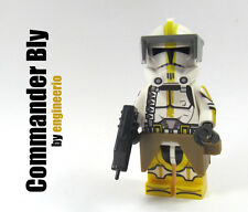 LEGO Custom -- Commander Bly -- Star Wars Clone Trooper Minifigure rex gree fox