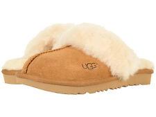 Kids UGG Cozy II Slipper 1019065K Chestnut Suede 100% Authentic Brand New