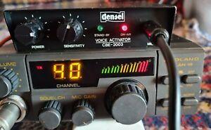 Densei CBE-2003 Freisprecheinrichtung VOX-Mikrofon für CB-Funk mit Schwanhals