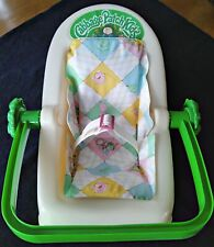 Vintage 1983 Cabbage Patch Kids Doll Carrier Rocker Car Seat 3 Position Coleco