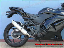 2008 - 2012 Kawasaki Ninja 250R Musarri Slip On Muffler Aluminum Short Free Ship