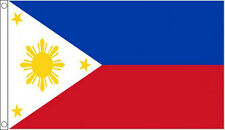 PHILIPPINES FLAG 5' x 3' Philippine Filipino Asia Asian Flags