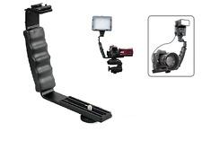 L Bracket Two 2 Hot Shoe Shoe For Camera DV Mic Video Light Flash Speedlight New