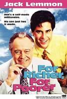 For Richer, for Poorer (DVD, 2006) Jack Lemmon, Jonathan Silverman  BRAND NEW