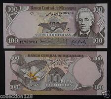 Nicaragua 100 Cordobas BANKNOTE 1984 UNC