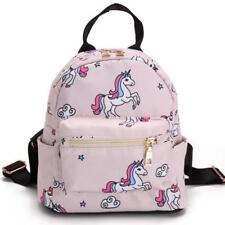 Unicorn Mini Backpack Flamingo Shoulder Bag Small Teenage Girls Backpack