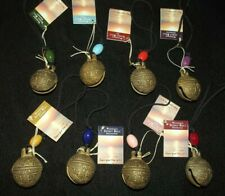 New listing Woodstock Chimes complete set of 8 spirit bells new in original bags w/ tags