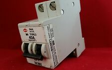 MEM 402MB3 40A 40AMP M9 TYPE 3 DOUBLE POLE DP 2P MCB FUSE SWITCH