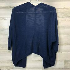 Old Navy Womans Cardigan Shall Sweater Blue Size Large